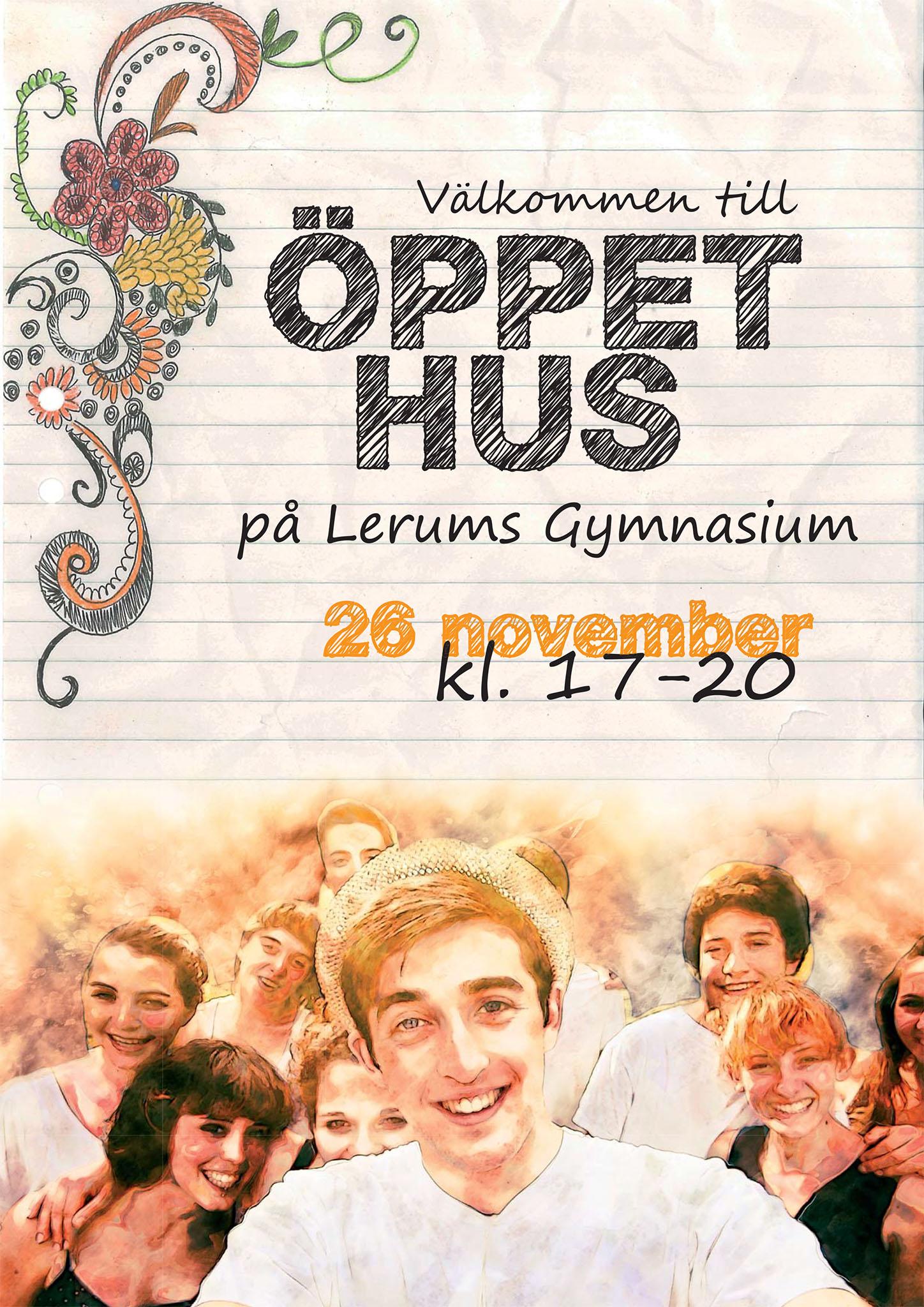 Flyer: Lerums Gymnasium